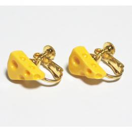 DE DE MOUSE cheese earrings(イヤリング)